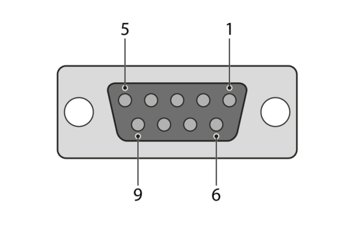 Connector D-SUB 9-Pin Female